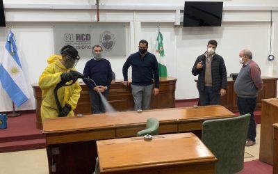 DESCONTAMINACIÓN CON VAPOR EN EL HCD DE SAN ISIDRO