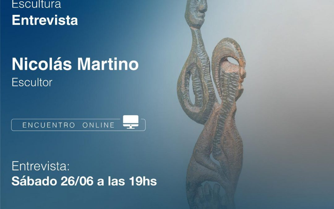 CHARLA CON NICOLÁS MARTINO, REFERENTE DE LA ESCULTURA SANISIDRENSE