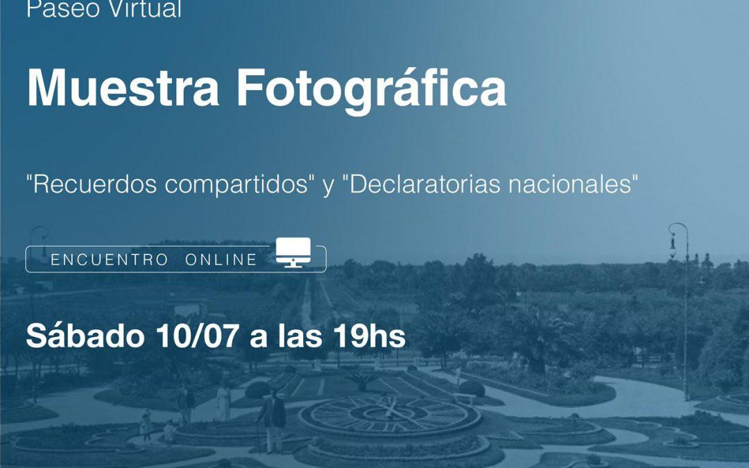 """PASEO VIRTUAL POR LAS MUESTRAS """"RECUERDOS COMPARTIDOS"""" Y """"DECLARATORIAS NACIONALES"""""""